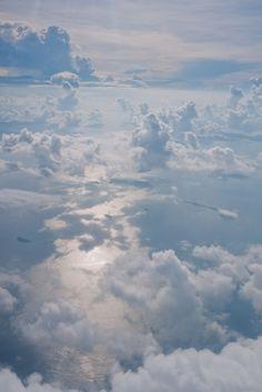 sky, heaven, fluffy clouds, blue skies, natur, beauti, air, earth, nube