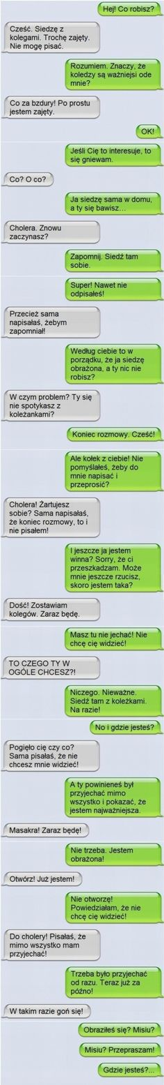 26 mistrzowskich rozmów facebookowych i smsowych – Demotywatory.pl Funny Sms, Funny Messages, Haha Funny, Funny Jokes, Funny Images, Funny Photos, Weekend Humor, Really Funny Pictures, Lol So True