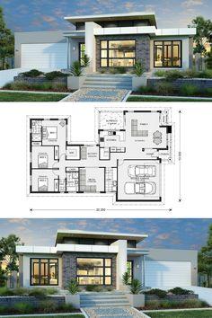 Splendid Three Bedroom Modern House Design