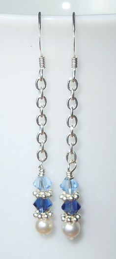 A personal favorite from my Etsy shop https://www.etsy.com/listing/190462184/swarovski-crystal-and-pearl-nautical