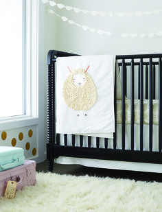 Pin to Win* babyPLACE Sweeps! Enter for your chance to win The Sheepish Baby Bedding Prize Pack...perfect for your nursery! These pieces are designed exclusively for The Land of Nod by Gingiber. Just visit www.childrensplace.com/bigbabybasket... for your chance to win!  #bigbabybasketsweeps