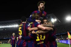 Lionel Messi inspires Barcelona to victory over Bayern Munich in the Champions League semi-final first leg. Champions League Semi Finals, Uefa Champions League, Messi Goals, Latest World News, Camp Nou, Lionel Messi, Fc Barcelona, Espn, Munich