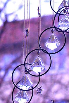 Sparkle, little wind chime. by Chastity Flanders, via Flickr