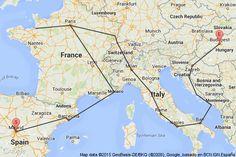 [유럽]상아랑 동유럽여행! by daisy113- 스투비플래너