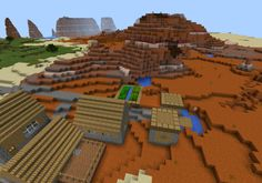 Two factors that make the game interesting are various biomes and villages. There is a big double village located behind the place where you spawn. You can find one part is situated in a mesa biome, whereas, other parts situate in a large plains biome. Discover Double Village in Mesa &... https://mcpebox.com/double-village-mesa-plains-biomes-seed-minecraft-pe/