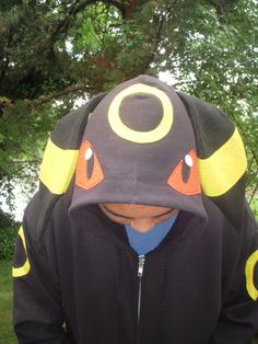 UMBREON Pokemon  Inspired Hoodie
