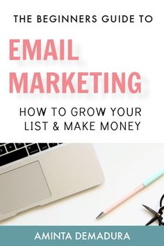 If you're a new blogger and you're wondering how the heck to even start email marketing, this guide will show you everything you need to know. I'm giving you my exact template for making money from my email list, and how you can too. #emailmarketing #creativepreneur #bloggingtips Email Marketing Strategy, Inbound Marketing, Business Marketing, Content Marketing, Internet Marketing, Online Business, Mobile Marketing, Media Marketing, Digital Marketing
