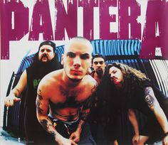 Promotional Poster for Pantera : from the era of Vulgar Display Of Power. Impressive Poster from an Incredible Band. Dimebag Darrell, Music Love, Music Is Life, Rock Music, My Music, Heavy Metal Rock, Heavy Metal Music, Heavy Metal Bands, Pantera Band
