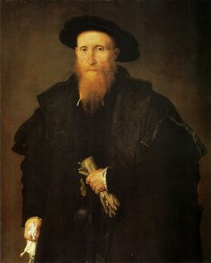 Portrait of an Old Man with Gloves