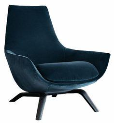 ERMES Velvet armchair by MisuraEmme design Mauro Lipparini Velvet Furniture, Sofa Furniture, Sofa Chair, Furniture Design, Wrought Iron Patio Chairs, Velvet Armchair, Velvet Chairs, Vintage Chairs, Occasional Chairs