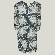 Back in Stock,  navy slip dress with embroidered detail flowers! #fashion #fashiongallerysa #winter #dress