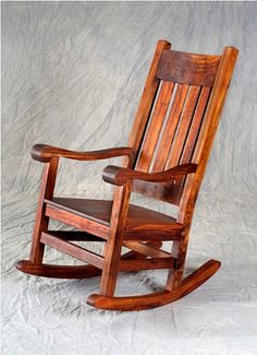 Antique Rocking Chair is made of teak wood
