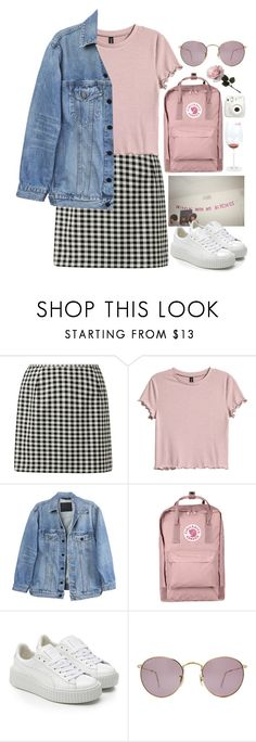 """""""Spring Fever"""" by brigi-bodoki ❤ liked on Polyvore featuring H&M, Y/Project, Fjällräven, Puma, Ray-Ban and Fujifilm"""