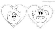 κάρτα διπλή Paper Bag Crafts, K Crafts, Crafts For Kids, Kindergarten Activities, Classroom Activities, Toddler Activities, Grandparents Day Activities, Preschool Family, Family Theme