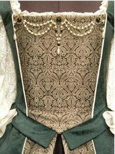 Damask Court Gown   Faire Finery Renaissance Dresses, Renaissance Fashion, Medieval Clothing, Tudor Facts, Historical Women, Historical Dress, Medieval Costume, Traditional Dresses, Damask