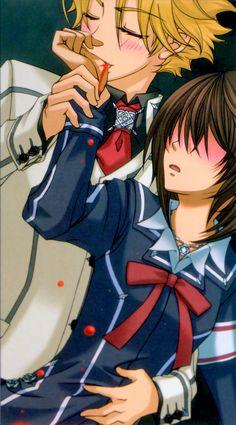Aido+and+Yuki | Vampire Knight Hanabusa Aido & Yuki Kuran