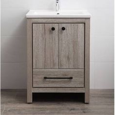 online shopping for Asenath 24 Single Bathroom Vanity Set Union Rustic from top store. See new offer for Asenath 24 Single Bathroom Vanity Set Union Rustic Cheap Bathroom Vanities, Cheap Bathrooms, Single Bathroom Vanity, White Bathroom, Small Bathroom, Bathroom Ideas, Single Vanities, Bathroom Remodeling, Bathroom Pics
