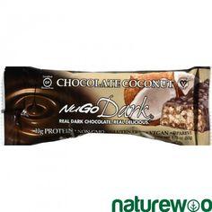 Nugo Nutrition - 1604966 - Bar - Nugo Dark - Chocolate Coconut - 1.76 oz - 1 Case