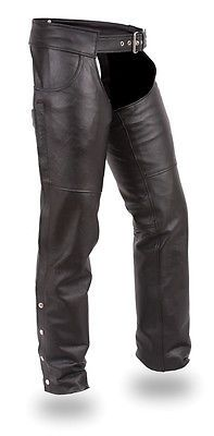 Western Chaps Full Chaps 183358: First Manufacturing Stampede Unisex Jean Style Motorcycle Chaps -> BUY IT NOW ONLY: $139.95 on eBay!