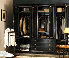 Handsome and Masculine Mans Closet.