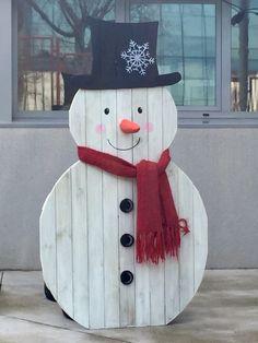 Snow Man pintado