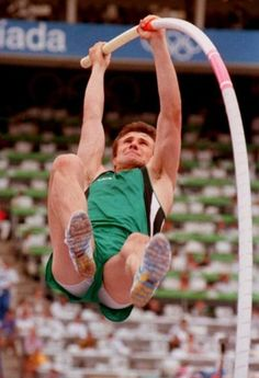 Sergei Bubka, greatest pole vaulter of all time