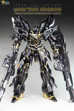 GUNDAM GUY: MG 1/100 Sinanju - Painted Build