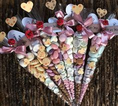 Alice in Wonderland 'Eat Me' Sweet Cone Wedding Party