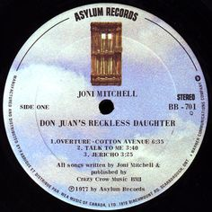 Joni Mitchell - Don Juan s Reckless Daughter *CANADA 1977* 2x LP