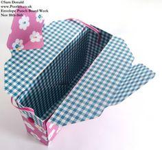 POOTLES Stampin Up ENVELOPE PUNCH BOARD WEEK The Clutch Bag 2