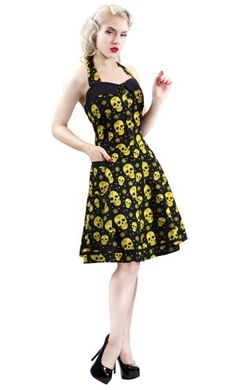 Sugar Ink Peggy Dress by Sourpuss Clothing - cute!  For me in a different color maybe.