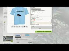 Systeem T shirt ontwerpen in onze webshop. http://www.ferdinandsdesign.org/
