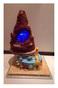 H2O cake mermaids cake H2O zeemeermin taart H2o cake