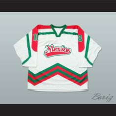 Looking to buy Mexico National Team Hockey Jersey Any Player or Number, Mexico-White ? Pay A Visit to http://www.borizcustomsportsjerseys.com/product-p/mexico-white.htm