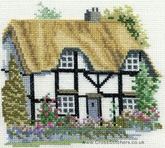 Herefordshire Cross Stitch Kit from Derwentwater Designs