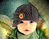 Baby Boy Hat Beanie, Baby Boy Crochet Hat, Newborn Baby Boy Photo Prop, Newsboy Baby Boy Beanie Hat, Baby Shower Gift, Baby Boy Clothes.