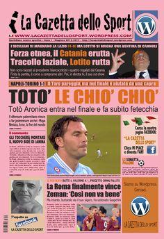La COPERTINA DEL 05.11.2012