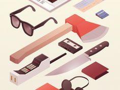 Dribbble - Murders & Executions by Steve Courtney