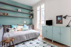Rénovation complète et décoration d'un studio au coeur de Paris, Nancy Geernaert - Côté Maison
