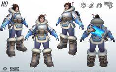 Mei of Overwatch - Turn-Around