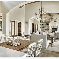 What are your thoughts on this shabby chic look from PHX Architecture