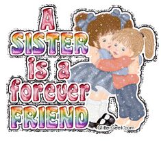 The perfect HappySistersDay ForeverFriend SisterDay Animated GIF for your conversation. Discover and Share the best GIFs on Tenor. Happy Sisters Day, Happy Mothers Day Sister, Sister Day, Love My Sister, Little Sisters, Twin Sisters, Brother, Sister Quotes Images, Sister Friend Quotes