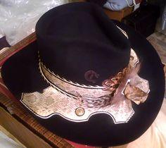 1d10c1ca730ad Charlie 1 Horse original vintage 10X Rattlesnake Hat