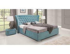 Łóżko tapicerowane z serii MINI MAXI z zagłówkiem 5100. Piękne i duże wezgłowie nada blasku każdej sypialni. Bed, Furniture, Home Decor, Decoration Home, Stream Bed, Room Decor, Home Furnishings, Beds, Home Interior Design