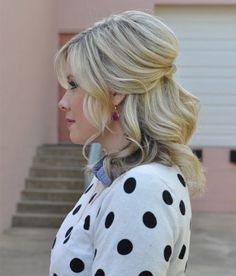 Wedding hairstyles for medium lengthed hair!