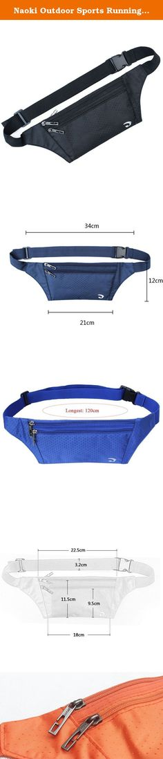 Naoki Outdoor Sports Running & Jogging & Travel Waterproof Utralthin Waist Pack / Bag Runner Belt(Black). Specifications: Accommodate: Credit card, Passport, Money and 6.3inch mobile phone such as for apple iphone 6 / 6plus, samsung galaxy note4 / s5 and other kinds of mobile phone Made of high quality polyester, general use for boy & girl. Three zippered pockets. The longest belt is 120cm(adjustble) with plastic buckle. It is perfect to carry it to go on a trip or fitness. Demension:...