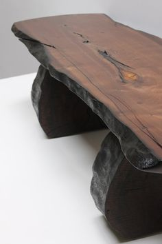 Walnut Plateau Coffee Table by realwoodworks
