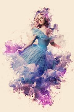 Cinderella_original01  I just love this style. I love watercolor and the dream-like aspect it gives.