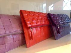 Colorful Clutches!