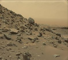 """Yesterday were known new images of Mars taken by the rover Curiosity on NASA mission to the """"red planet"""", four years ago. Sistema Solar, Nasa Curiosity Rover, Curiosity Mars, Mars One, Life On Mars, Cosmos, Dunmer Skyrim, Sonda Curiosity, Nature"""